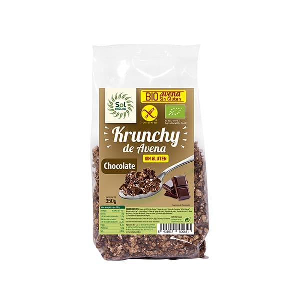 Crunchy Aven-Choc s/g 350g ECO