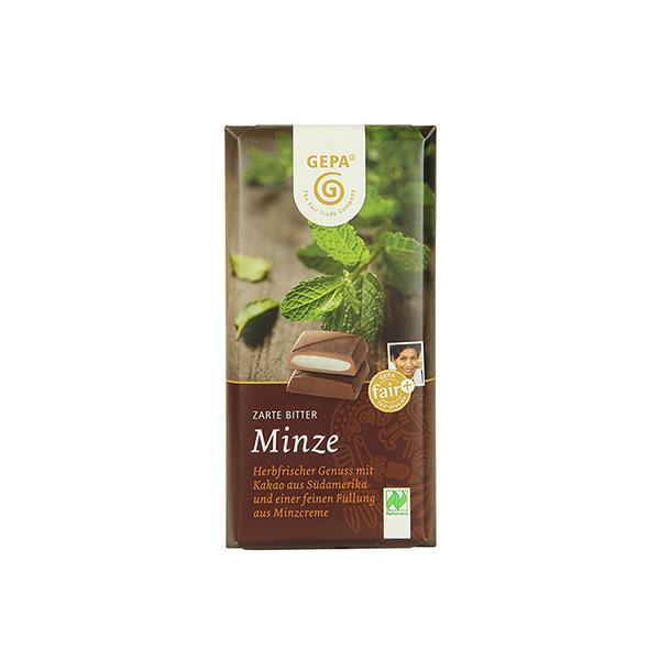 Chocolate Negro 68% Menta ECO