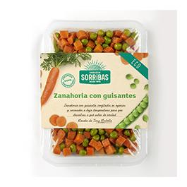 Zanahoria c/guisantes 240g ECO