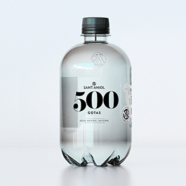 Agua Mineral 500gotas 0,5L