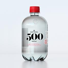 Agua Gas 500 Gotas 0,5L