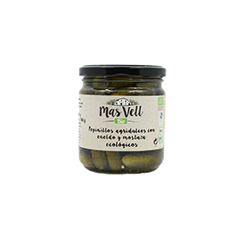 Pepinillos Agridulces 350g ECO