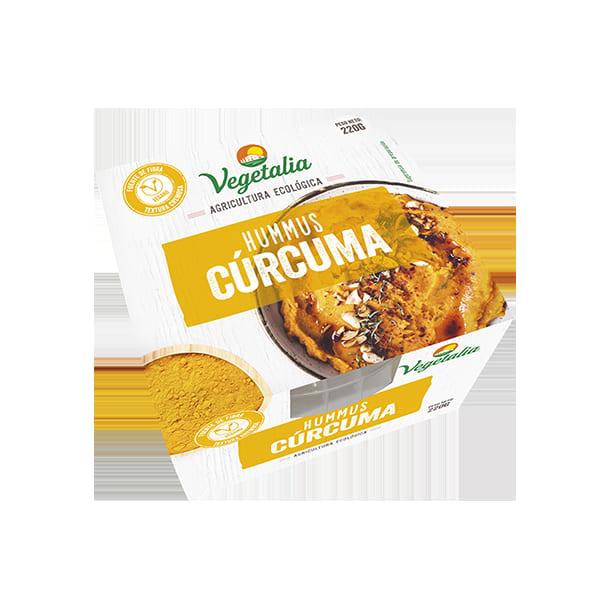 Hummus cúrcuma 220g ECO