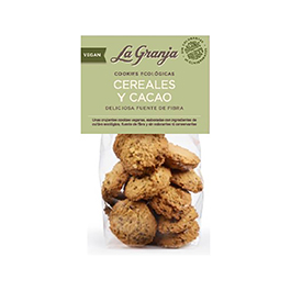 Cookies Cereal-Cacao 240g ECO