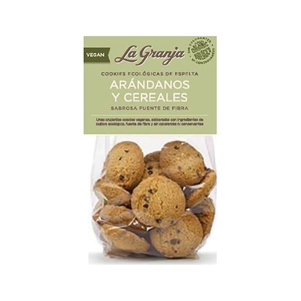 Cookies Arándanos y Cereales ECO