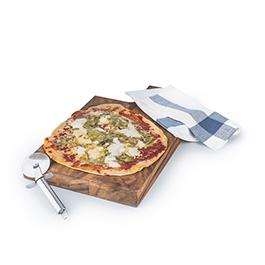 Pizza Puerro y Queso de Cabra ECO