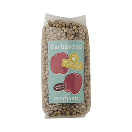 Garbanzosrganic 500g ECO