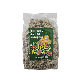 Crunchy Avena Integr Ecorganic500gr ECO