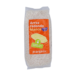 Arroz Redondo Blanco 500g ECO