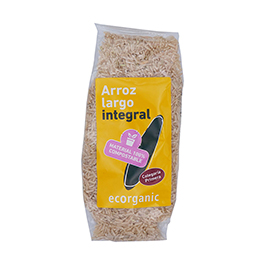 Arroz Largo Integral Ecorg 500g ECO