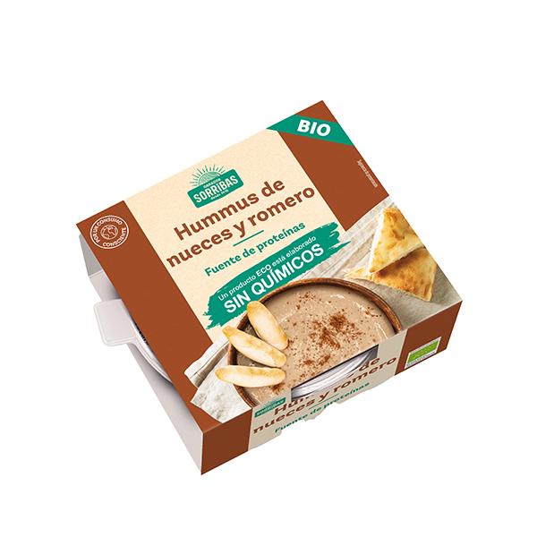Hummus nueces y romero 240g ECO