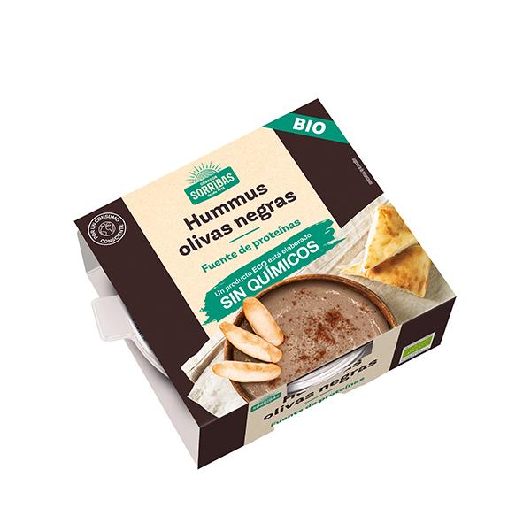 Hummus olivas negras 240g ECO
