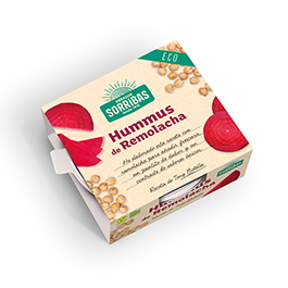 Hummus de remolacha 240g ECO