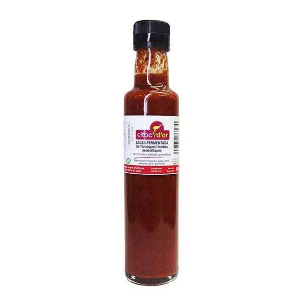Salsa Fermentada Tomate/hier. ECO