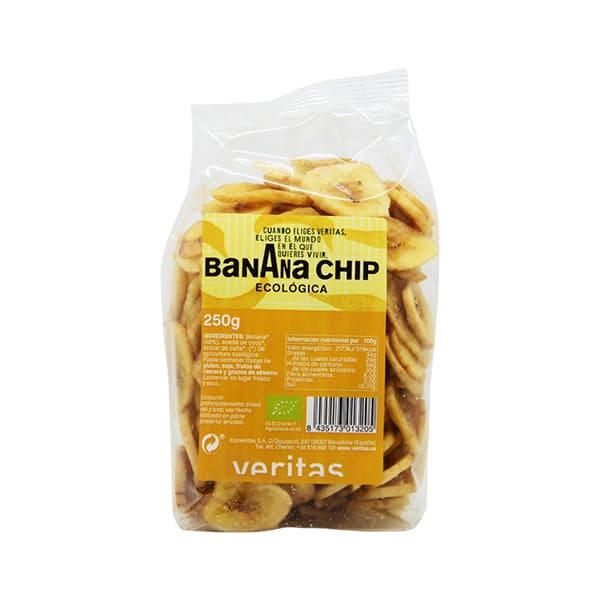Banana Chip Veritas 250g ECO