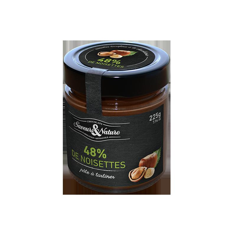Crema de cacao avellana 48% ECO