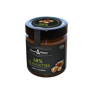 Crema cacao avellana 48% 225g ECO