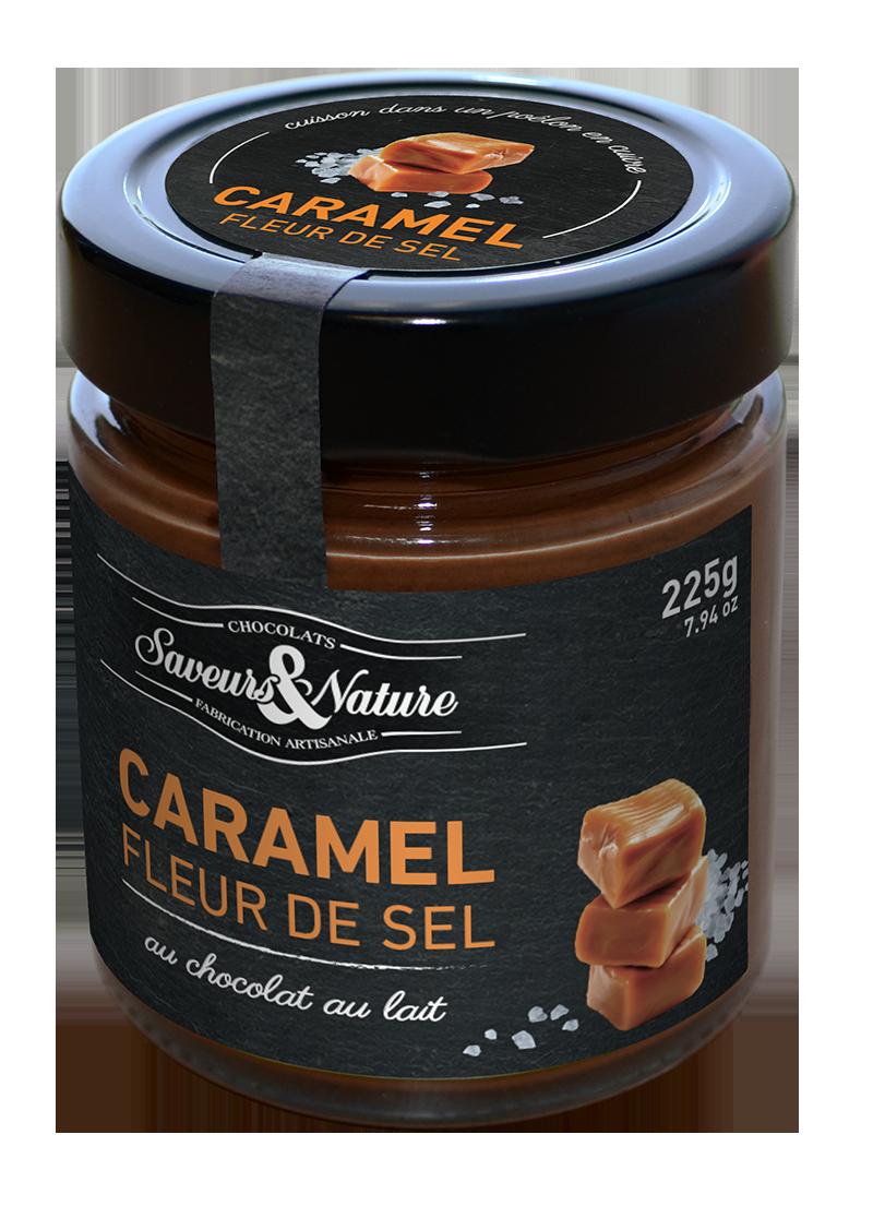 Crema de Cacao Caramelo y Sal ECO