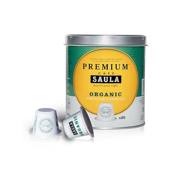 Café cápsulas premium 20un ECO