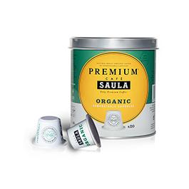 Café cápsulas premium Saula 20un ECO