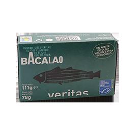 Bacalao Aceite Oliva Veritas 78g