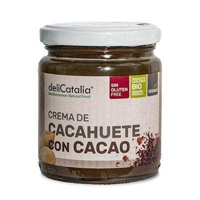 Crema Cacahuete y Cacao 225g ECO