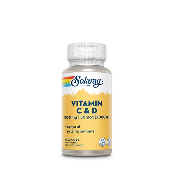Vitamina C+D 60u