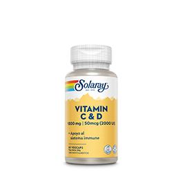 Vitamina C+D 60 cap