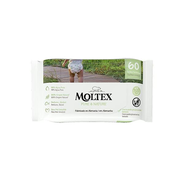 Toallitas Moltex 60un