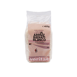 Arroz basmati blanco 400g ECO