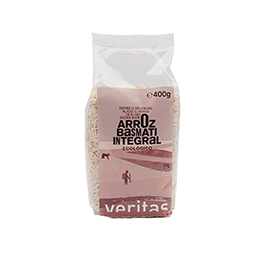 Arroz basmati integral 400g ECO