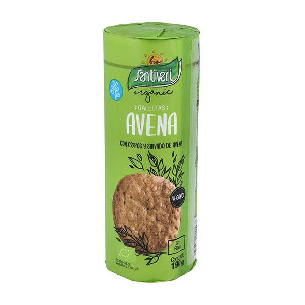 Tubo galletas de avena 190g ECO