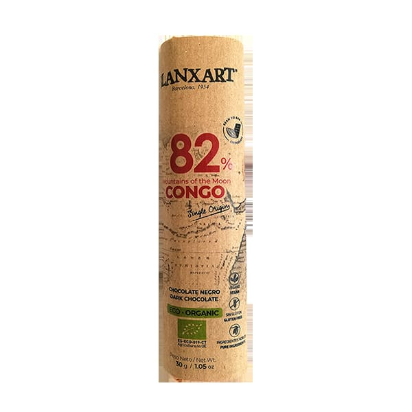 Chocolatina 82% CONGO 30g ECO