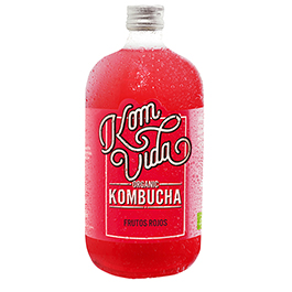 Kombucha frutos rojos 750ml ECO