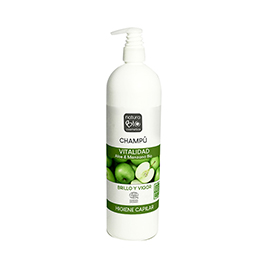 Champ aloe manzana 740ml ECO