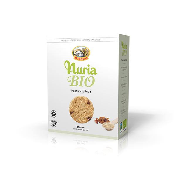 Galleta pasas y quinoa 280g ECO
