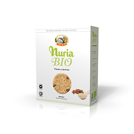 Galleta pasas y quinoa 280g ECO