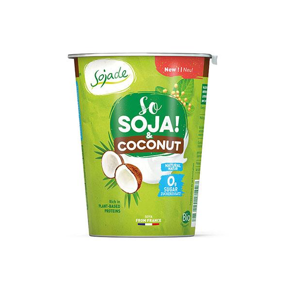 Postre soja con coco 400g ECO