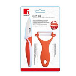 Set pelador cuchillo ceramico