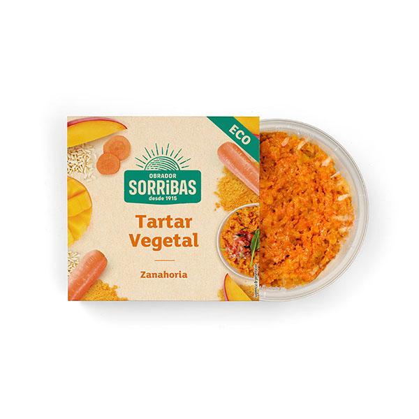 Tartar de zanahoria 200g ECO