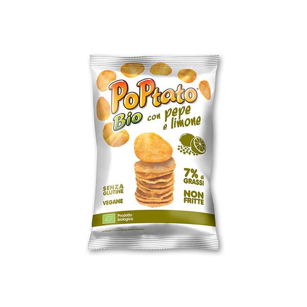 Patatas limón pimienta 40g ECO