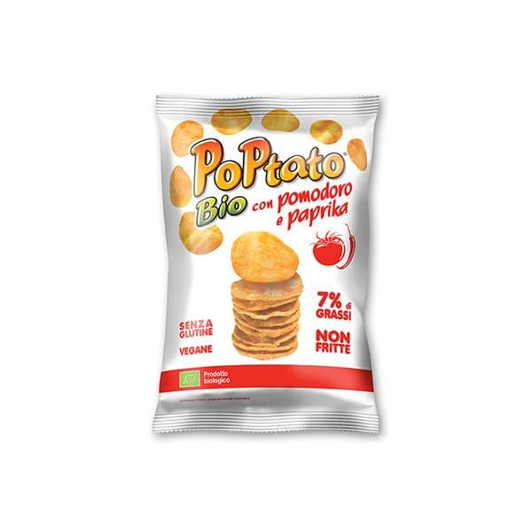 Patatas tomate pimient 40g ECO