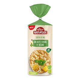 Tortita maíz oregano 134g ECO