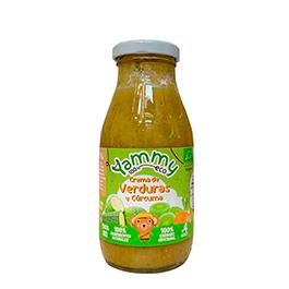 Crema de verdura cúrcuma 255g ECO