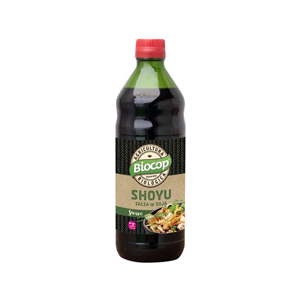 Salsa de soja Shoyu 500ml ECO