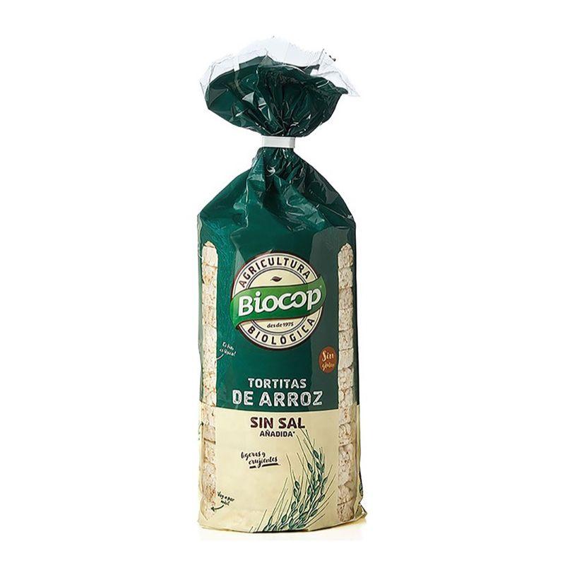 Tortitas de arroz s/sal 200g ECO