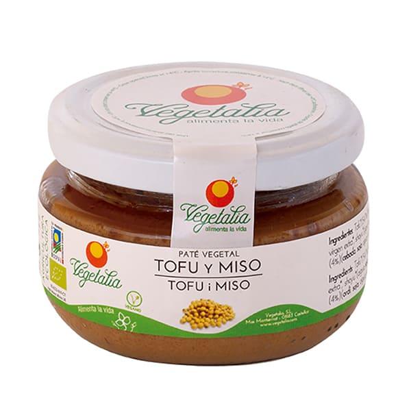Paté de tofu y miso 210g
